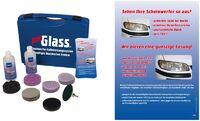 Полный набор для полировки фар PRO GLASS  (германия) арт.sas308