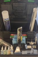 Набор OPTIMAL-Антискол (20 позиций) для ремонта сколов и трещин. Антискол+Dremel Lite. Под ЗАКАЗ
