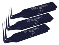 Лезвия для резака CTK382. Арт. Z1,  Z2, Z3, Z4, Z5, Z6, Z7, EQUALIZER