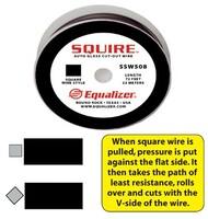 Проволока для срезки стекол квадратная  Арт. SSW508 EQUALIZER