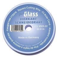 Проволока для срезки стекол квадратная  0,6x0,6 мм   Арт. VKD-22(VKD-44) PRO GLASS
